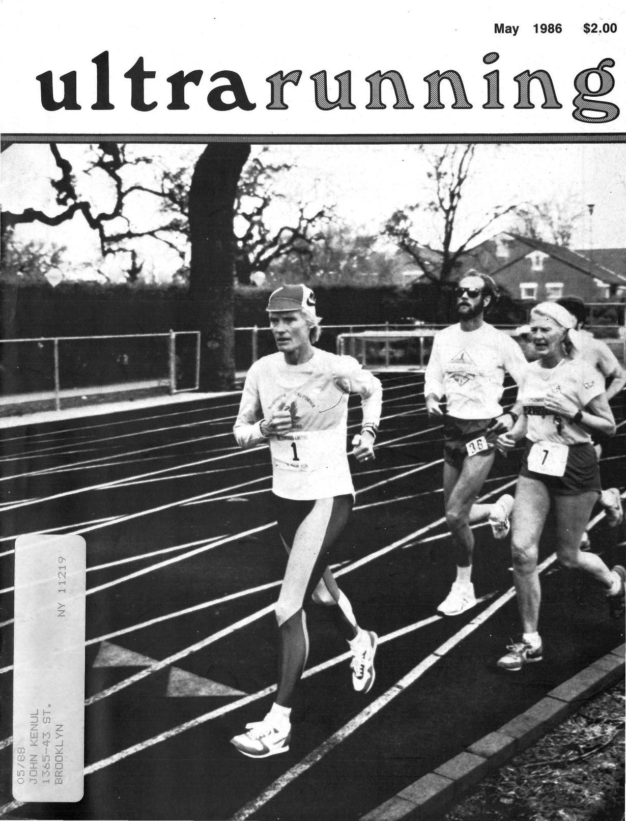 Ultramarathon News Podcasts: Pioneering Ultrarunner Ruth Anderson