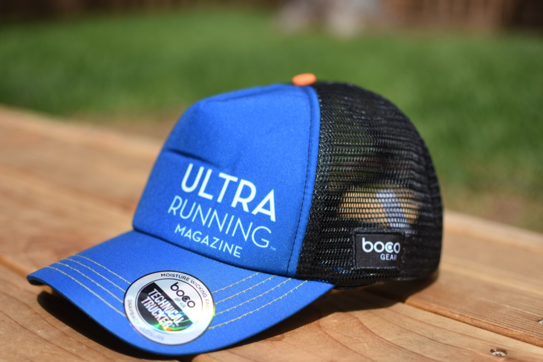 UltraRunning Magazine BOCO Technical Trucker – Dark Blue fff9cfefb84
