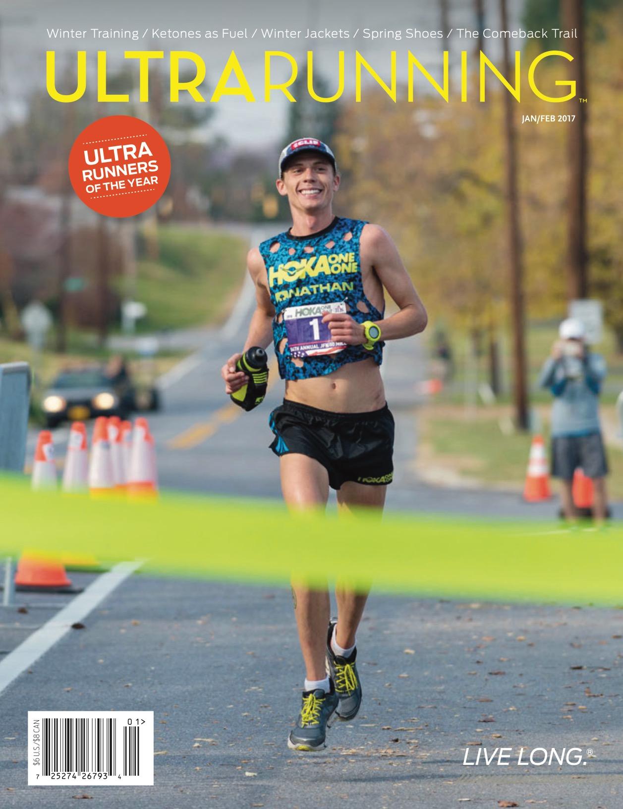 Ultramarathon News Podcasts: UltraRunning Jan/Feb 2017