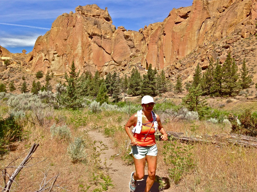 what one run can teach you  ultrarunning magazine - a runner enjoying the trails at smith rock