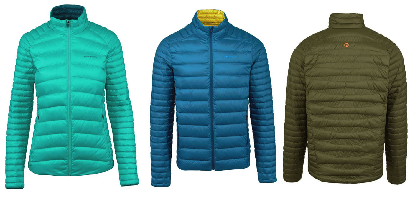 merrell size review jacket