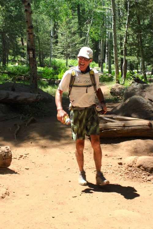Eleven time Western States finisher Jerry Bloom photo by Peter Mortimer 750 NOTICIAS 50K