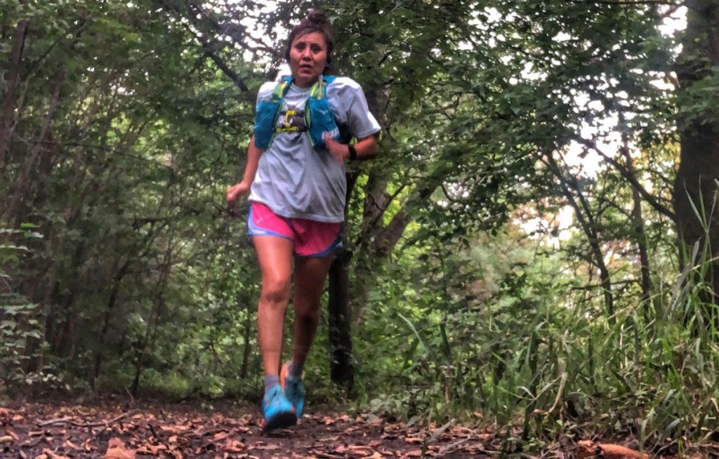Verna is training hard for Surf the Murph 50 miler slated for October Corriendo por los que no pueden: Verna Volker