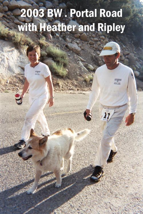 2003 BW Heather and Ripley 750 Death Valley 30/30 - La próxima gran aventura de Marshall Ulrich