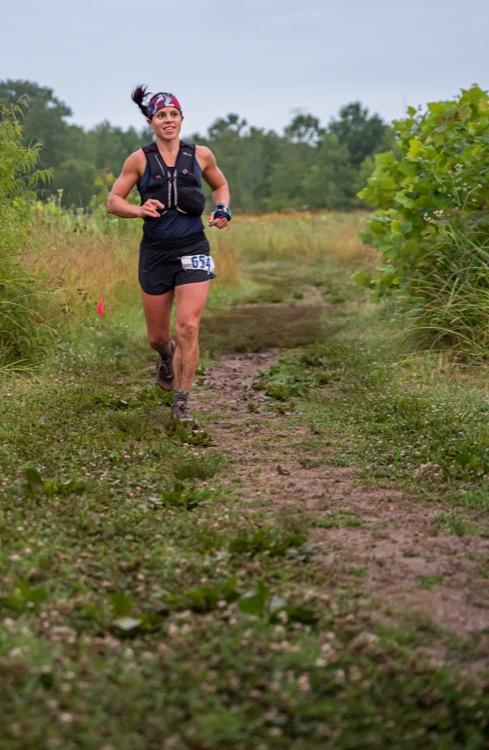 DSC 4504 750 Dark 2 Dawn Night Trail Race: esa sensación de meta