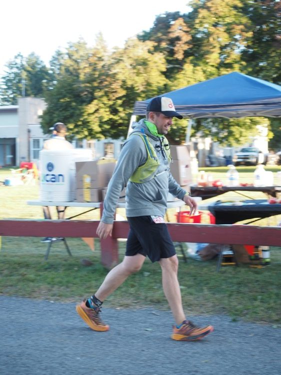 Michael McCarthy 24hr finisher 750 rotated Festival de trail running de 24 horas Pawling