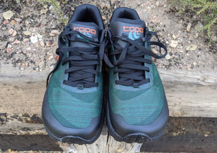 Roomy toe box 750 Primer vistazo: zapatillas de trail Topo Ultraventure Pro