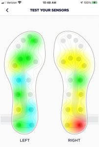 foot impact areas e1604531046667 Revisión de plantillas NURVV Run - Revista Ultrarunning