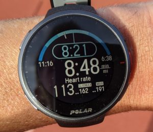 run test readout 750 Reloj GPS Polar Vantage V2 Multisport