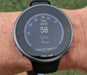 run test result on wrist 750 e1608765036669 Reloj GPS Polar Vantage V2 Multisport