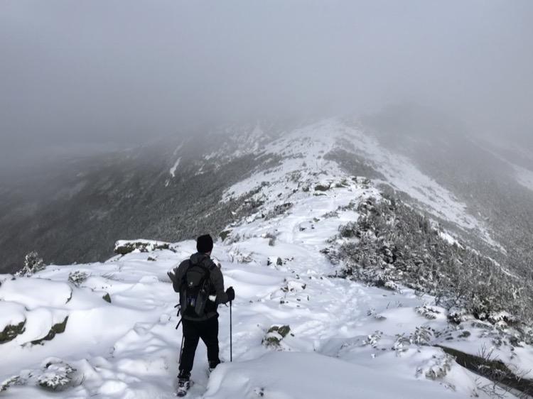 Hiking the ridge 750 Corredores de cuello azul: probando cosas nuevas