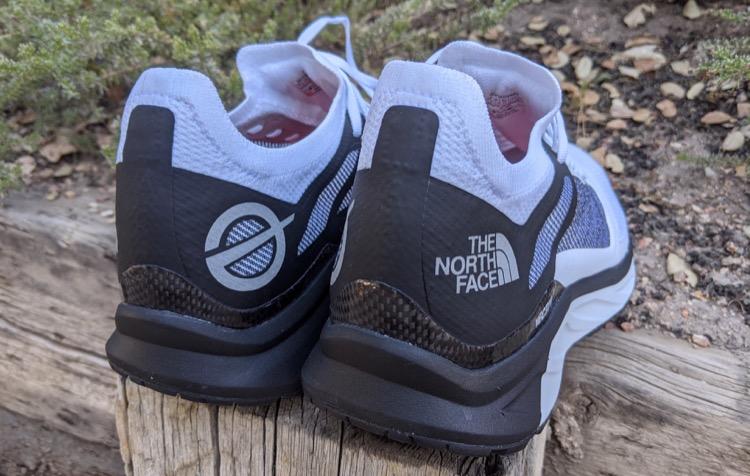 molded heel cups with high cushioned rearfoot EVA 750 Primer vistazo: zapatillas de trail running The North Face Flight VECTIV
