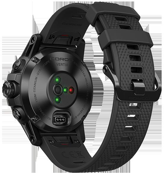 black 05 Revisión del reloj GPS COROS VERTIX