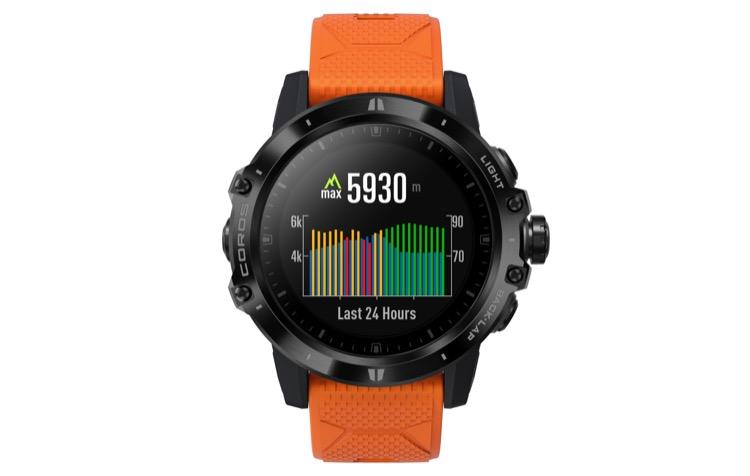 elevation 750 Revisión del reloj GPS COROS VERTIX