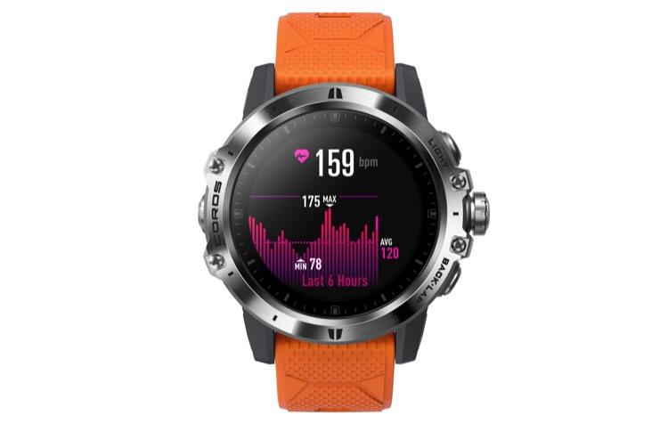 hr 750 Revisión del reloj GPS COROS VERTIX