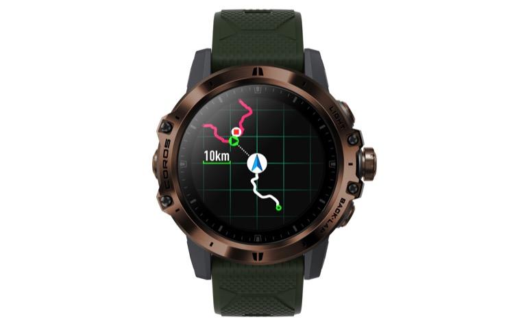 route navigation 750 Revisión del reloj GPS COROS VERTIX