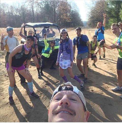 runners at the Iceman Cometh PC Sean Seekins Corredores de cuello azul: Melanie Arleth