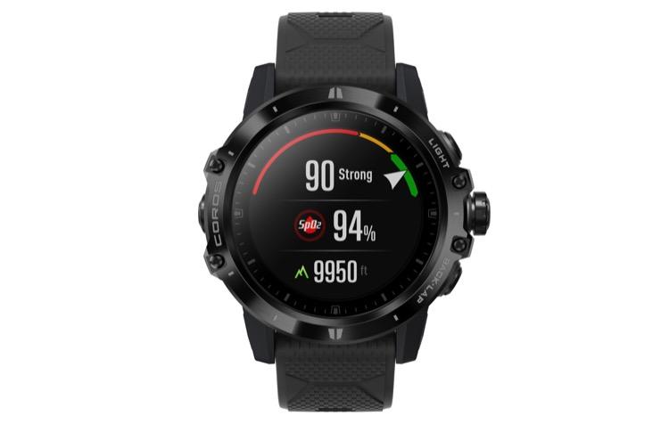 spo2 monitoring at wrist 750 Revisión del reloj GPS COROS VERTIX